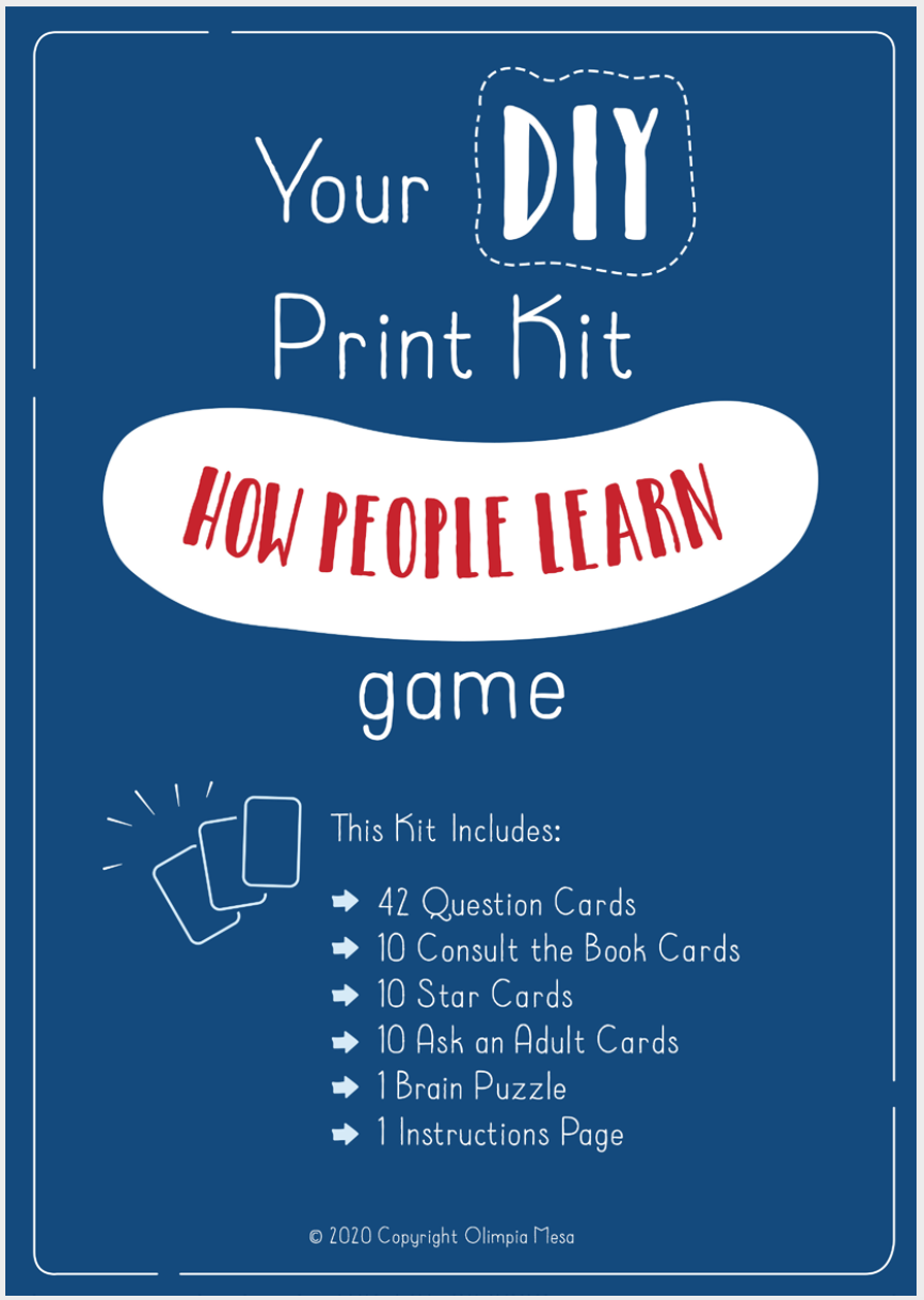 How People Learn Game – DIY kit
