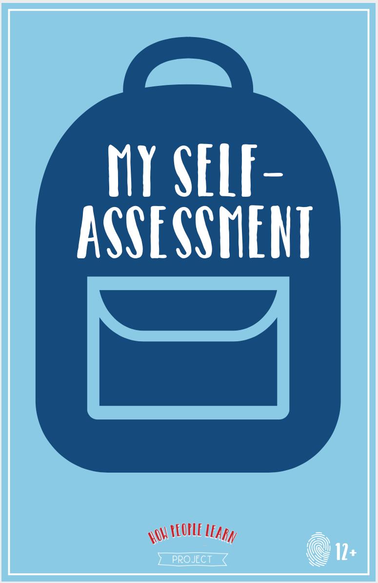 My Self-Assessment - for children